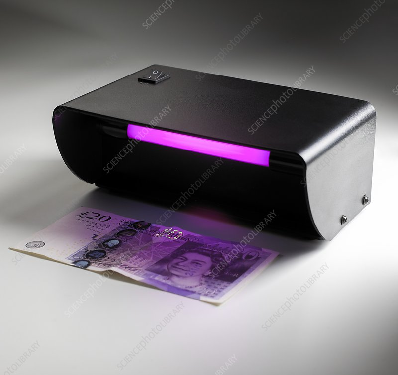 Ultraviolet banknote checker
