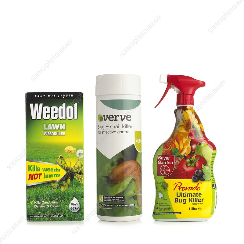 Garden weed and insect killer