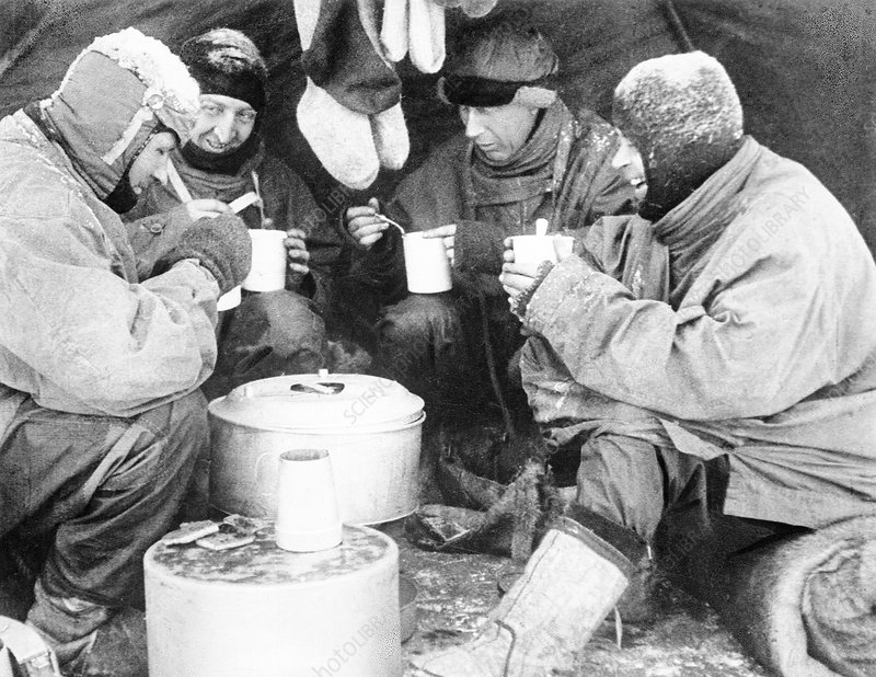 Scott's South Pole party, 1912