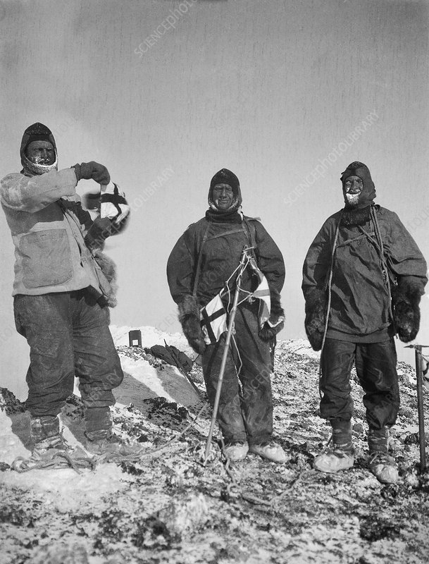 Mount Erebus ascent expedition, 1912