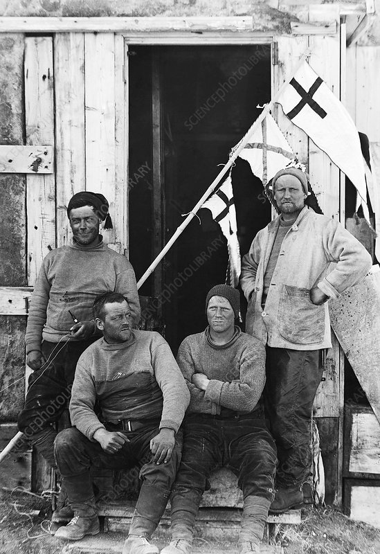 Christmas at Cape Royds, Antarctica, 1912