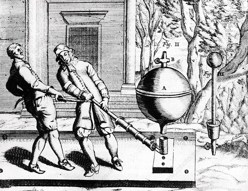 Von Guericke's second air pump