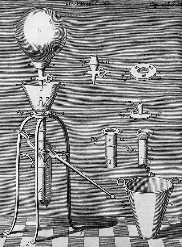 Otto von Guericke's improved air pump