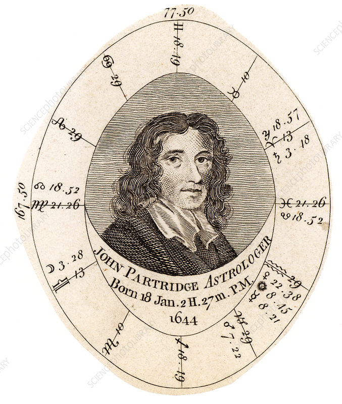 John Partridge, English astrologer