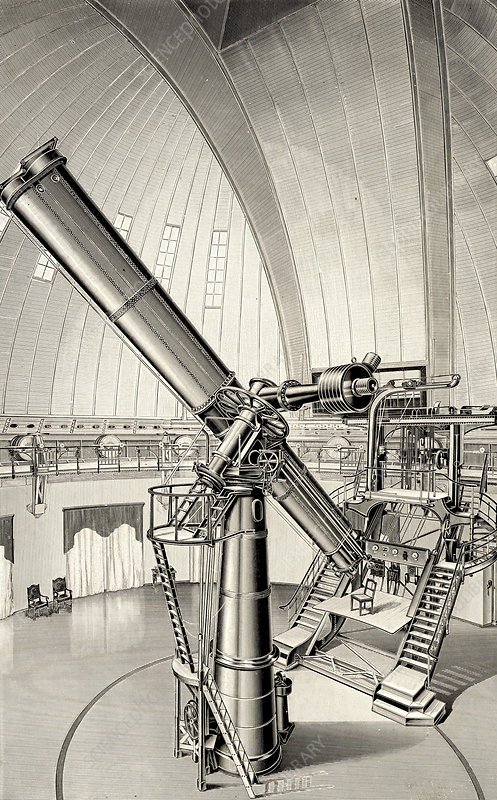 Large refracting telescope, Potsdam