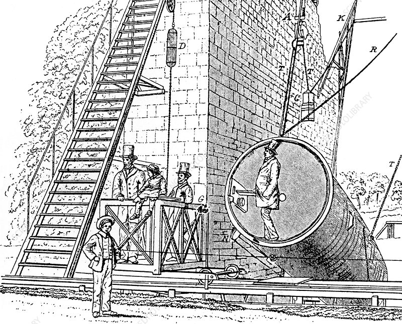 Lord Rosse's reflecting telescope