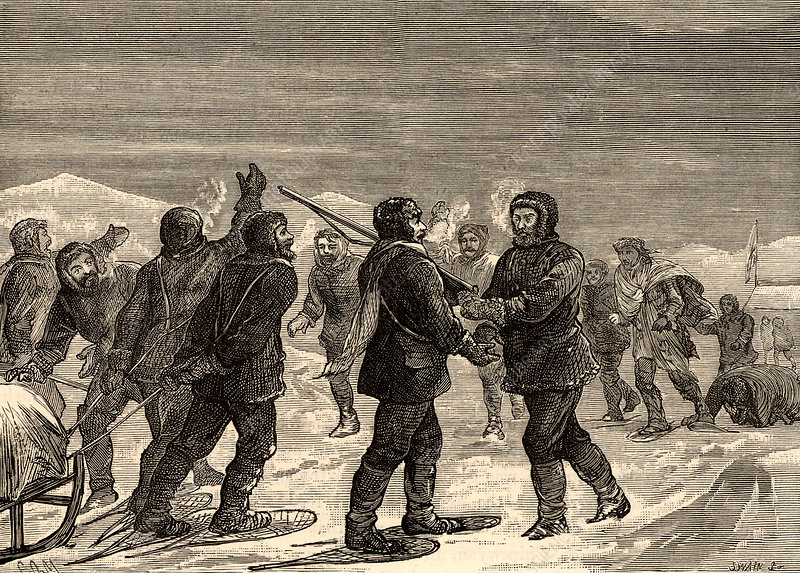 Arctic expedition led by John Franklin