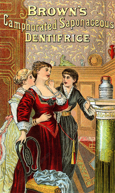 Brown's dentifrice, toothpaste
