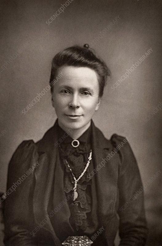 Mrs Sophia Bryant, English mathematician