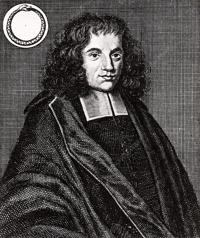 Baruch Spinoza, Dutch philosopher