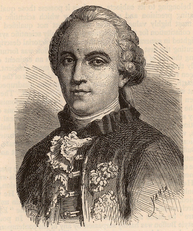 Leclerc Buffon, French naturalist