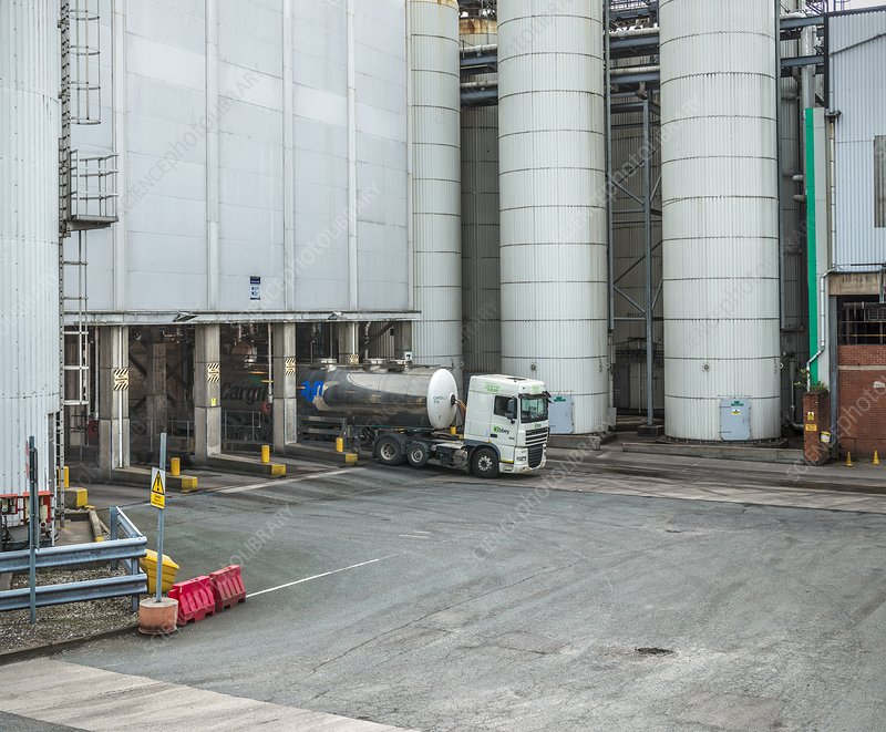 Industrial loading silos
