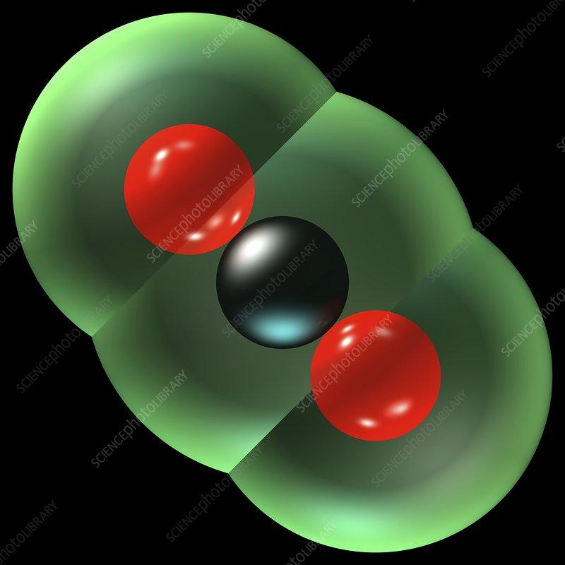 Carbon dioxide molecule