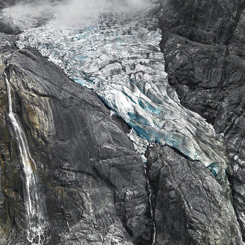 Huefi Glacier, Glarus Alps, Switzerland
