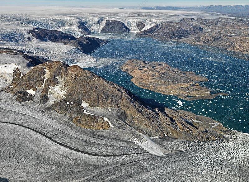 Johan-Petersen-Fjord, East Greenland