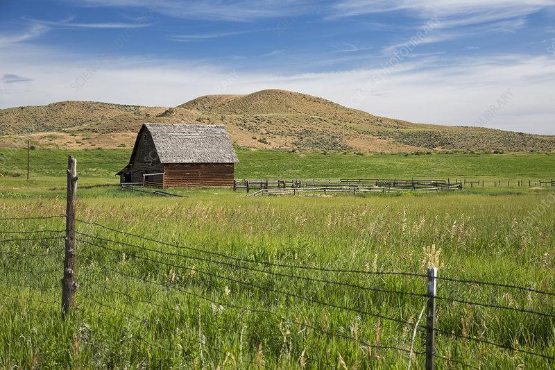 Colorado ranch building