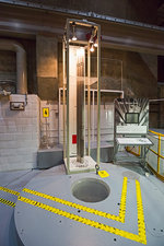 EBR-I nuclear reactor fuel rods and core