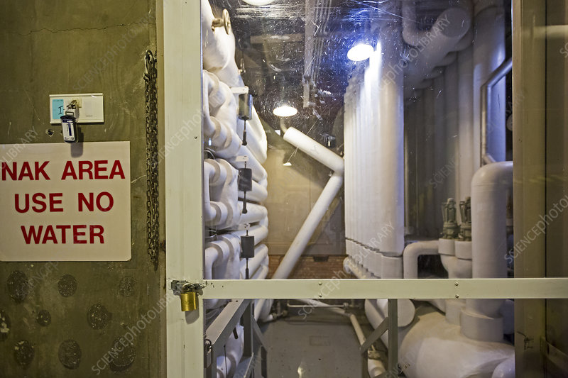 EBR-I nuclear reactor heat exchanger