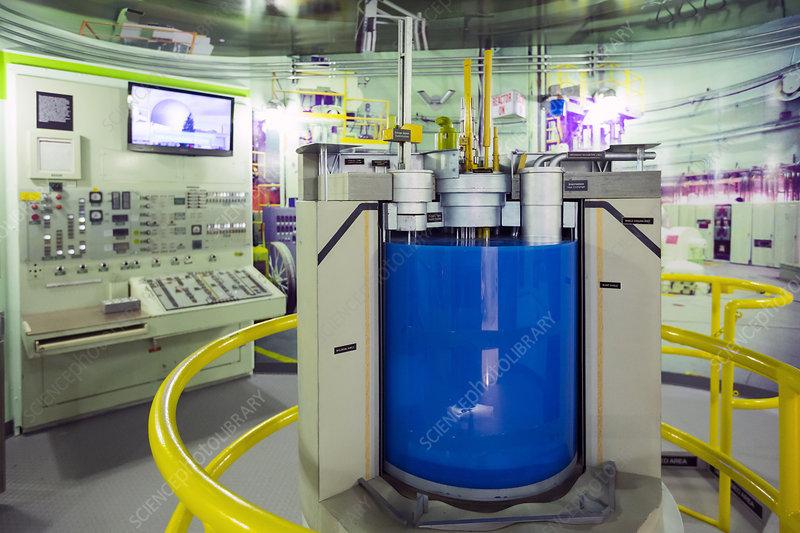 EBR-II nuclear reactor replica
