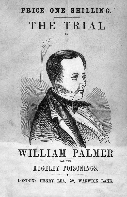 Trial of William Palmer, 1856