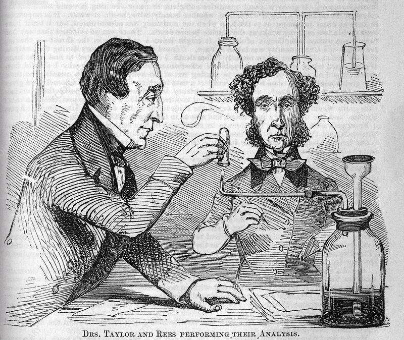 Forensic toxicologists, 19th century