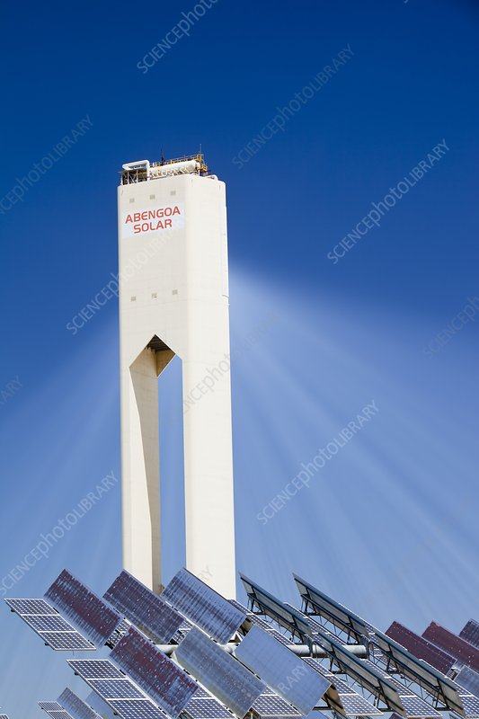 The PS20 solar thermal tower, Spain