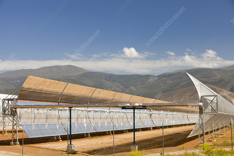 The Andasol solar power station, Spain