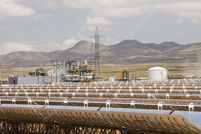 Andasol solar power station, Spain