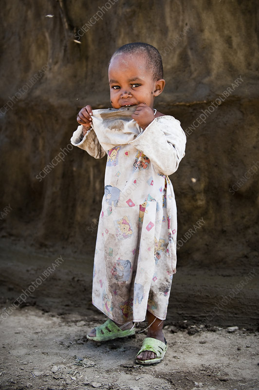 Young child, Tanzania