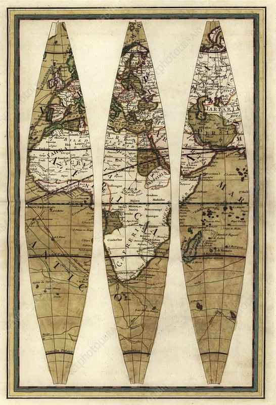 Captain Cook's voyages, 1790 maps