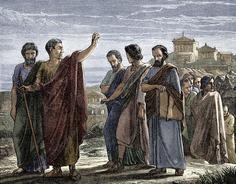 Aristotle's Self-Exile