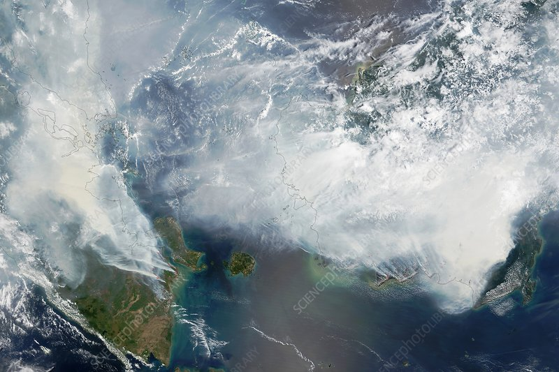 Indonesian forest fires, 2015
