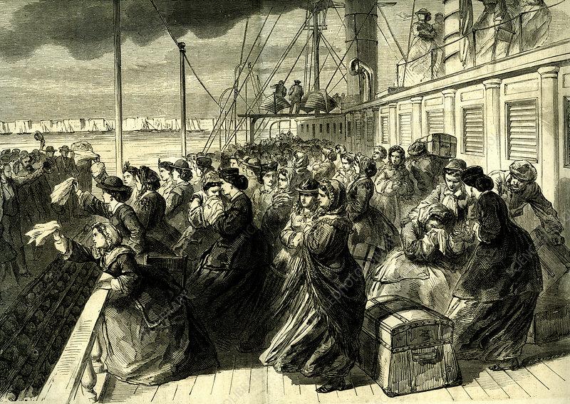 19th Century American emigrants