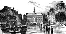 Amsterdam Stock Exchange, illustration
