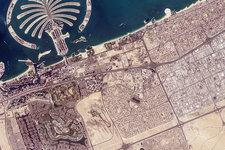 Palm Jumeirah, ISS image