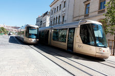 Trams in Orleans, France