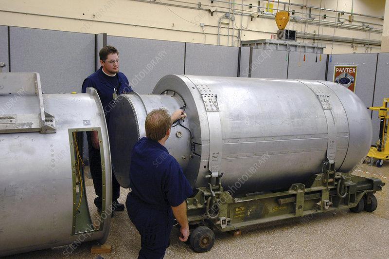 B53 Nuclear Bomb Disposal Stock Image C027 0607