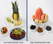 High- and Low-Carbohydrate Fruits