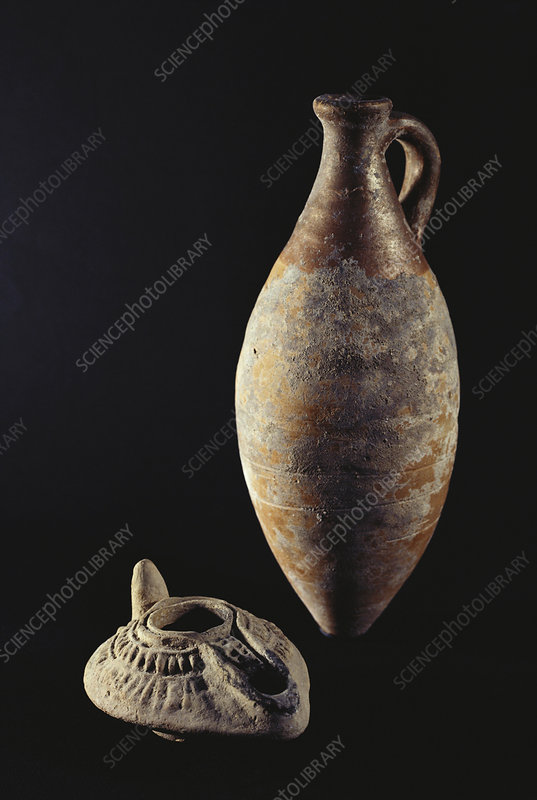 Anphor & Lamp from Old Ebla