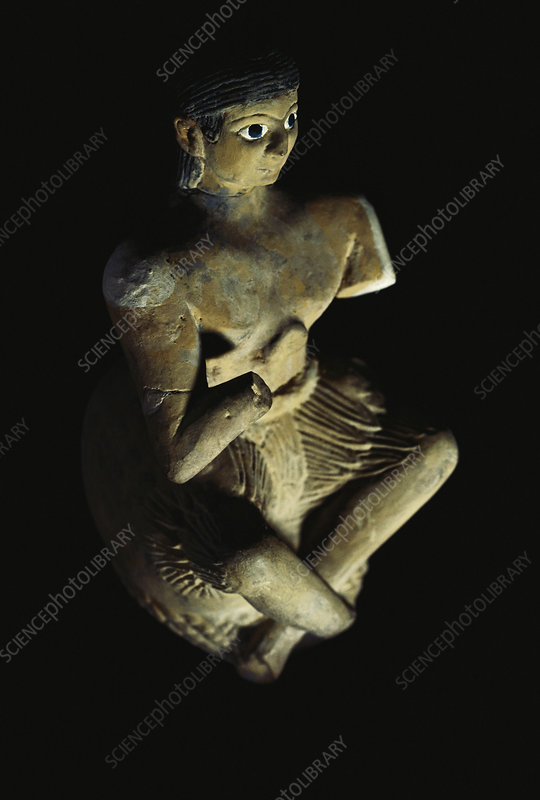 Singer from Excavation of Mari