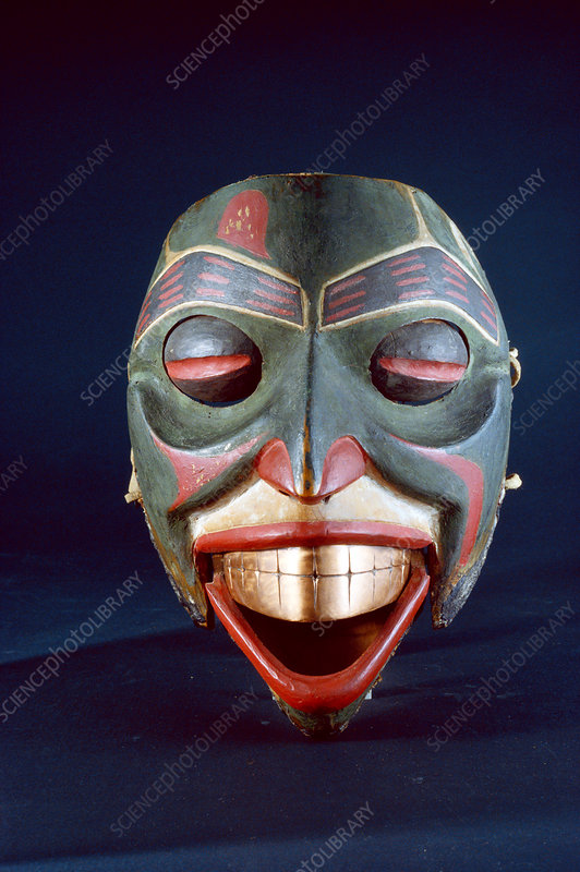 Haida Mask with Moveable Parts
