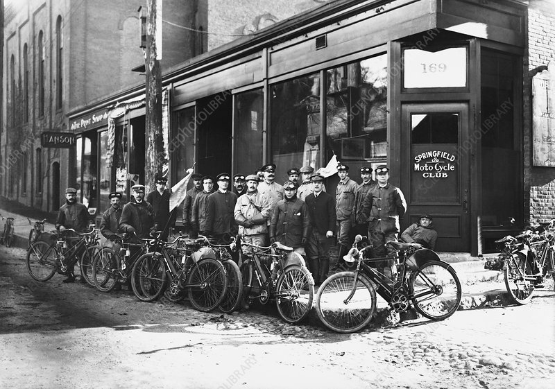Springfield Moto Cycle Club, 1900s