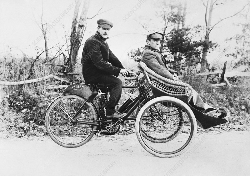 Custom Motor-Tricycle, 1900s