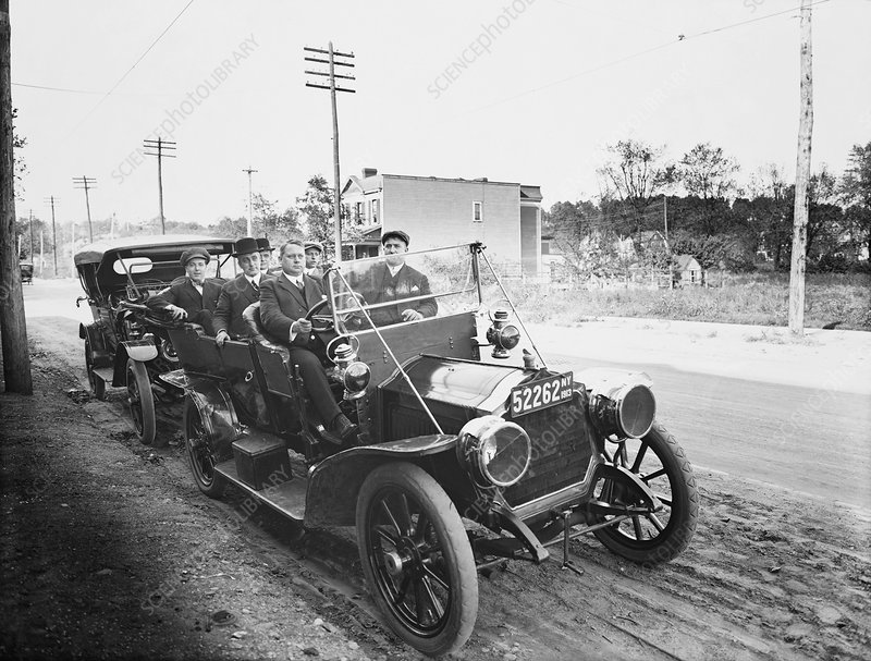 Early Touring Car, 1913