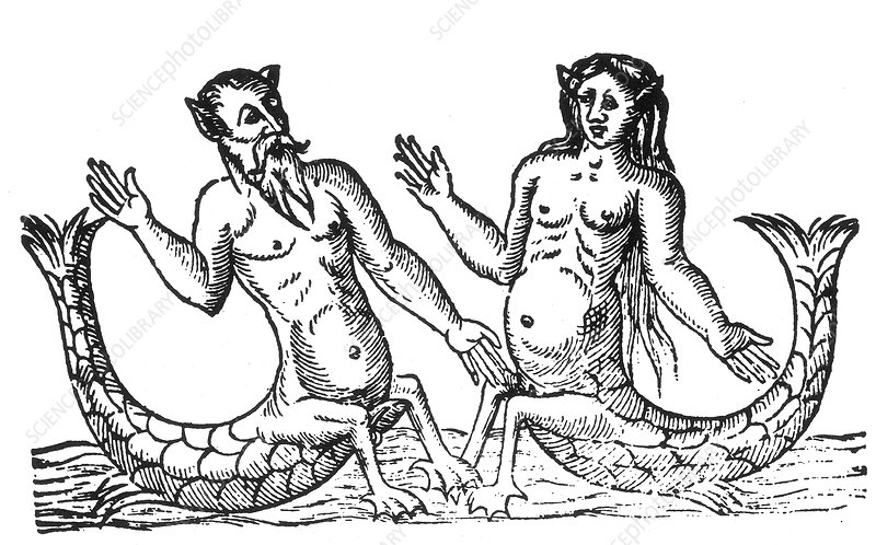 Triton and Siren, Legendary Creatures