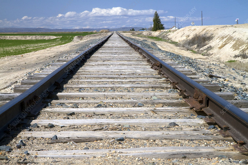 Railroad Tracks in Canyon County, Idaho