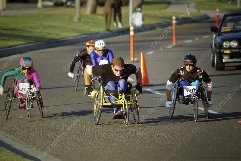 Handicapped racers