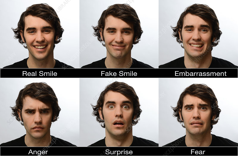 Different Facial Expressions
