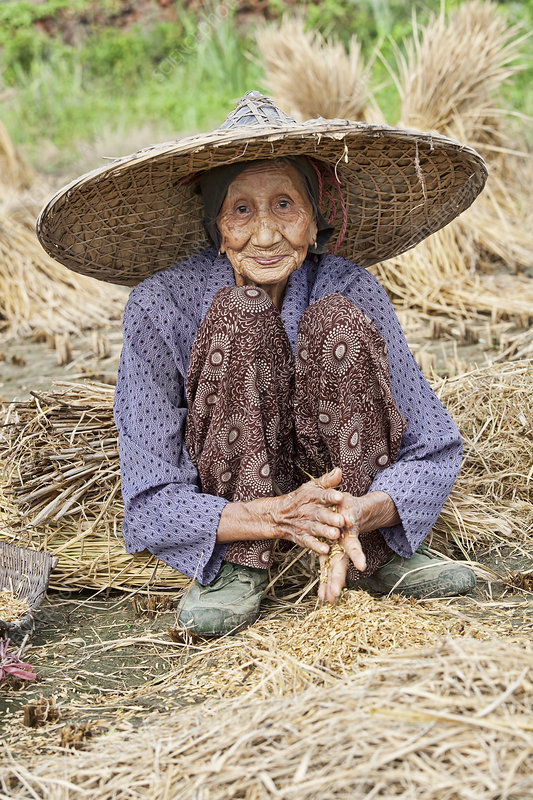 93 Year Old Woman, China