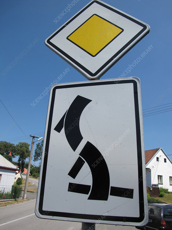 Complicated Intersection Sign
